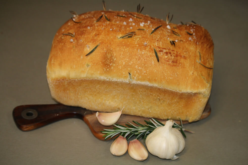 Garlic Rosemary Loaf Recipe By Garlico Marlborough Ltd In Blenheim NZ