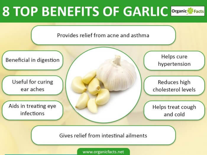 Garlic Health Benefits Infographic Shared By Garlico Marlborough Ltd